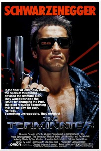 The Terminator, Original Film Poster from 1984